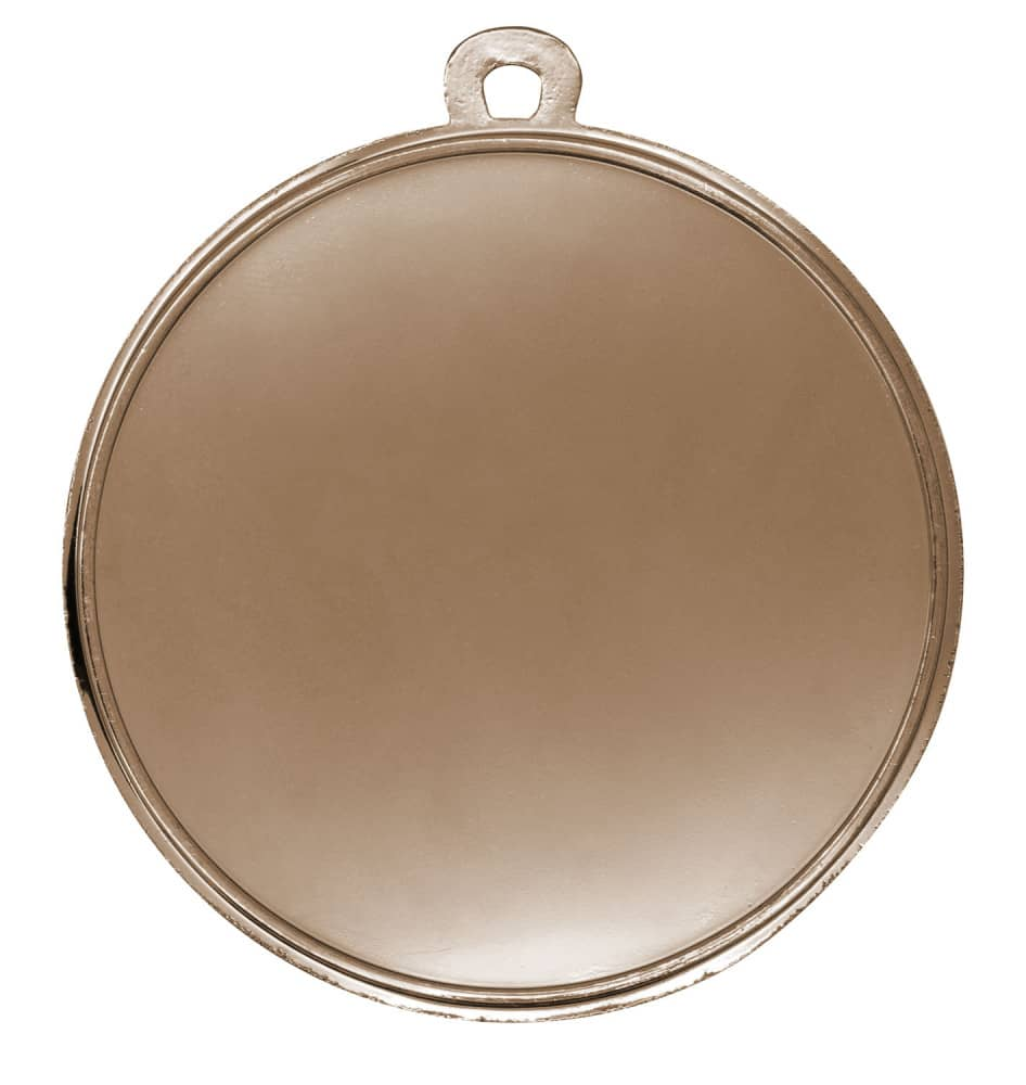 """Medaille """"Kamiros"""" Ø 50mm mit Wunschemblem und Band bronze"""