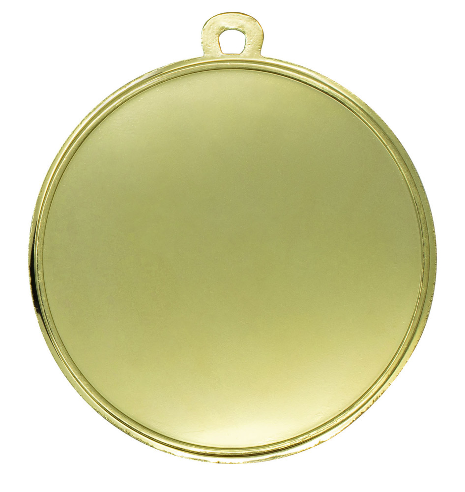 "Medaille ""Karate"" 1 Ø 50mm mit Band Gold"