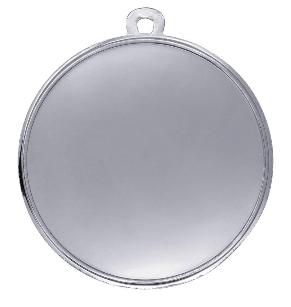"""Medaille """"Midea"""" Ø 70mm mit Wunschemblem und Band silber"""