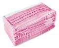 50 Stück Einwegmasken Pink für Nase & Mund mit Ohrschlaufe