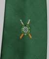 Schützenkrawatte mit gewebtem Emblem PREMIUM