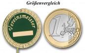 """Anstecknadel """"Vereinsmeister"""" gold"""