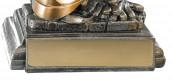 Trophäe Feuerwehrhelm FS52540 bronze