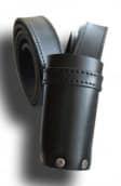 Fahnentragegurt mit Fahnenschuh schwarz