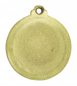"Medaille ""Football"" Ø 50mm mit Band Gold"