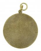 Schützenmedaille 5 altgold