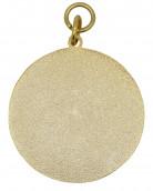 Medaille gold mit Auflage nach Wunsch