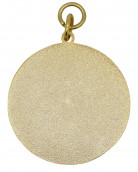 Medaille gold-rot
