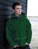 Jugend-Regenjacke dunkelgrün | XL (11-12)