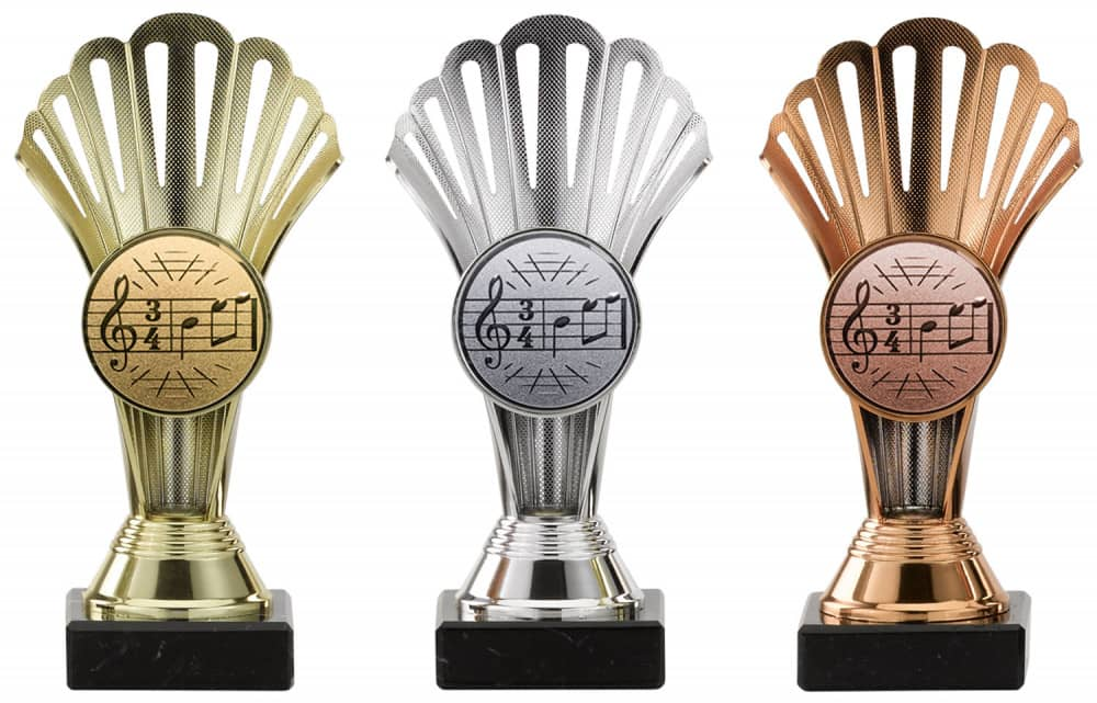 Pokale 3er Serie A101 silber