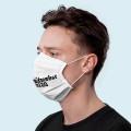 Wiederverwendbare Mund- und Nasenmaske mit Ohrschlaufen - bedruckbar
