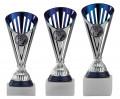 Fußballpokale 3er Serie A311-FB silber-blau