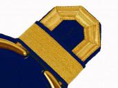 Tressenspangen (ein Paar) gold für Epauletten
