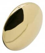 Uniformknopf 25 mm glatt vergoldet