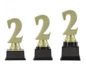 "Figurpokal ""Zwei"" PF352.2-M60 gold 13,1cm"