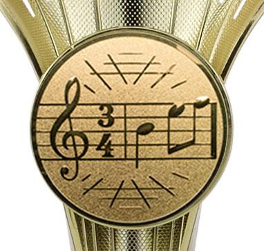 Pokale 3er Serie A101 gold