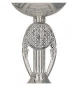 Pokale 3er Serie TRY9078 silber 13,5 cm