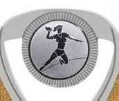Handballpokale 3er Serie C533-HA silber 12 cm
