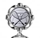 Pokale 6er Serie S480 silber/türkis 35 cm