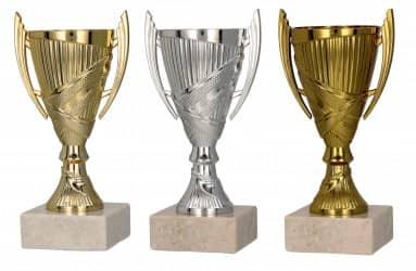 Pokale mit Henkel 3er Serie TRY9082