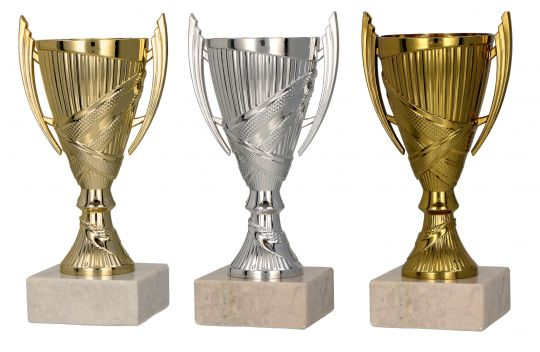 Pokale mit Henkel 3er Serie TRY-9082