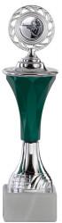 Pokale 6er Serie A294 silber/grün mit Deckel