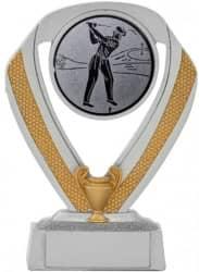 Golfpokale 3er Serie C533-GOLF silber