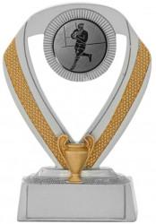 Rugbypokale 3er Serie A533-RUG silber