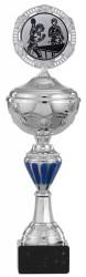 Pokale 6er Serie S143 silber/blau mit Deckel