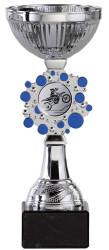 Pokale 6er Serie S147 silber/blau