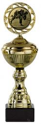 Judopokale 6er Serie S148-JUDO gold mit Deckel