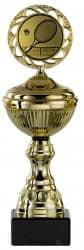 Tennispokale 6er Serie S148-TEN gold mit Deckel