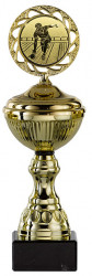 Bowlingpokale 6er Serie S148-BOW gold mit Deckel