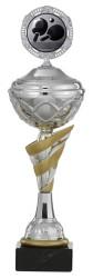 Pokale 6er Serie S438 silber/gold mit Deckel