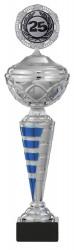 Pokale 6er Serie S443 silber/blau mit Deckel