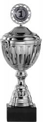 Pokale Serie S753-3erB silber mit Deckel