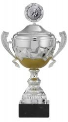 Pokale mit Henkel 6er Serie S866 silber-gold mit Deckel