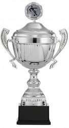 Fußballpokale mit Henkel 6er Serie S916-FB silber
