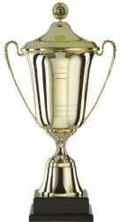 Pokal mit Henkel S964 mit Deckel