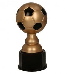 Fußballpokale 3er Serie TRY-RF1015 schwarz mit gold