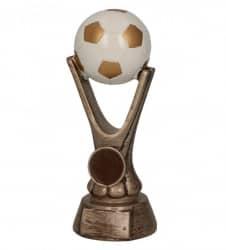 SALE: Fußballpokale 3er Serie TRY-RKO113 altgold mit weiß