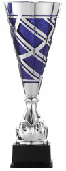 Pokale 3er Serie S923 silber/blau