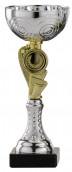 Pokale 6er Serie S155 silber-gold 18 cm