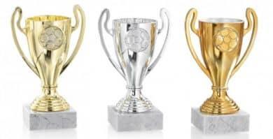 Pokale mit Henkel 3er Serie FS094L