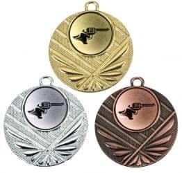"Medaille ""Momos"" Ø 50 mm inkl. Wunschemblem und Kordel"