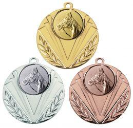 """Medaille """"Geras"""" Ø 50 mm inkl. Wunschemblem und Kordel"""