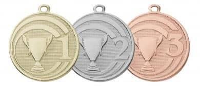"Medaille ""Glory"" Ø 45 mm inkl. Wunschemblem und Kordel"