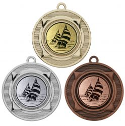 "Medaille ""Nereus"" Ø 50 mm inkl. Wunschemblem und Kordel"