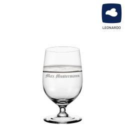 Leonardo Wasserglas 300ml Ciao+ mit individueller Namensgravur