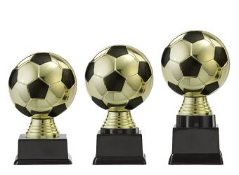 "Ballpokal ""Fußball"" PF300.2-M60 gold/schwarz"